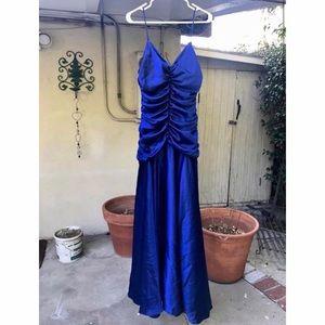 Jessica McClintock Royal Blue Dress Gown